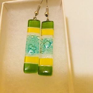 Jewelry - Sterling/Blown Glass